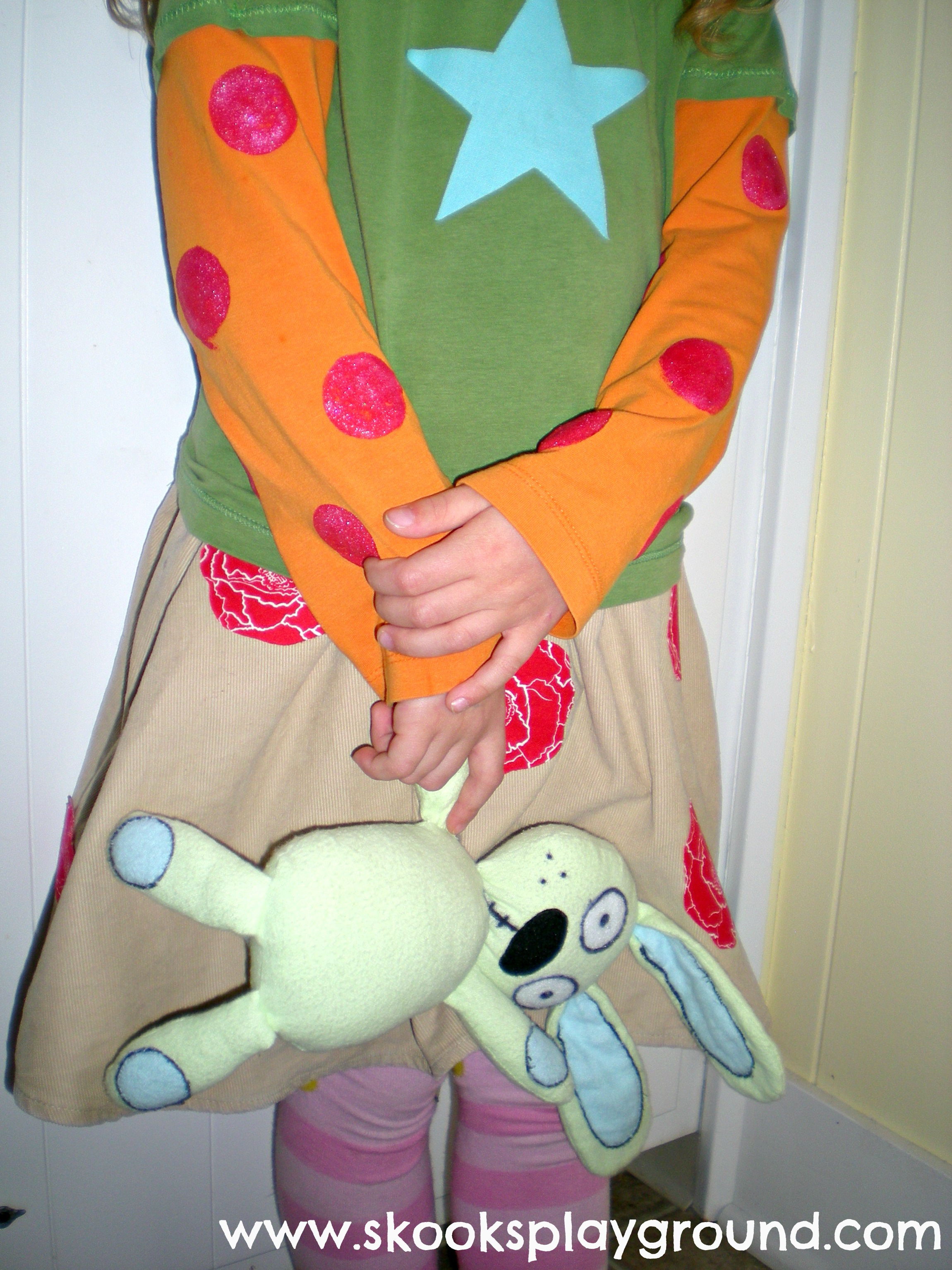 Trixie Knuffle Bunny Costume