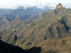 Gran Canaria - Roque Bentayga in the Winter