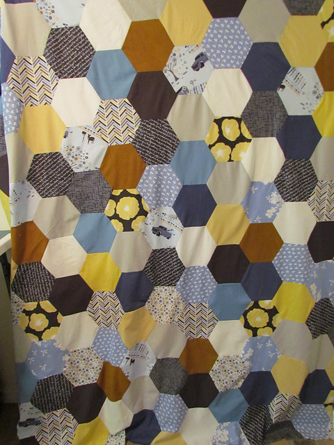 Madrona Road fabric challenge quilt:  Malka Dubrawsky pattern