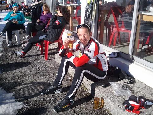 Fin de semana de Reyes 2013 en Somport esquiando fondo