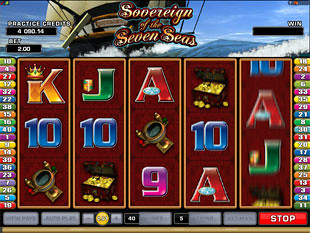 Sovereign of the Seven Seas Slot Machine
