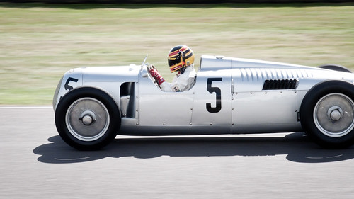 2012 Goodwood Revival: Auto Union Typ C by 8w6thgear