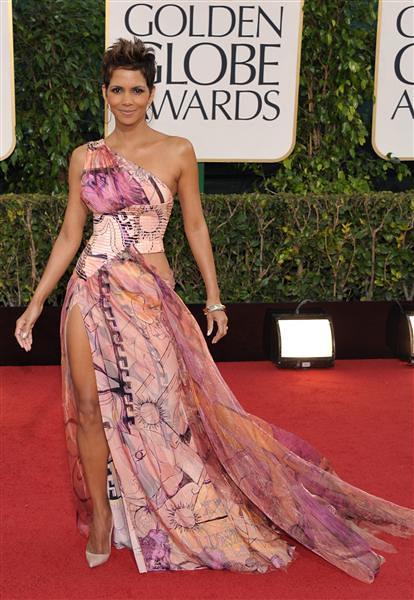 Golden Globe Halle Berry 2013