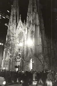 St. Patrick's Cathedral, NYC, Dec 2001