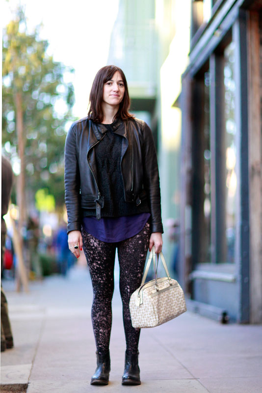 libbynich street style, street fashion, women, Valencia Street, San Francisco