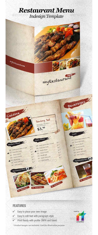 menus de restaurantes