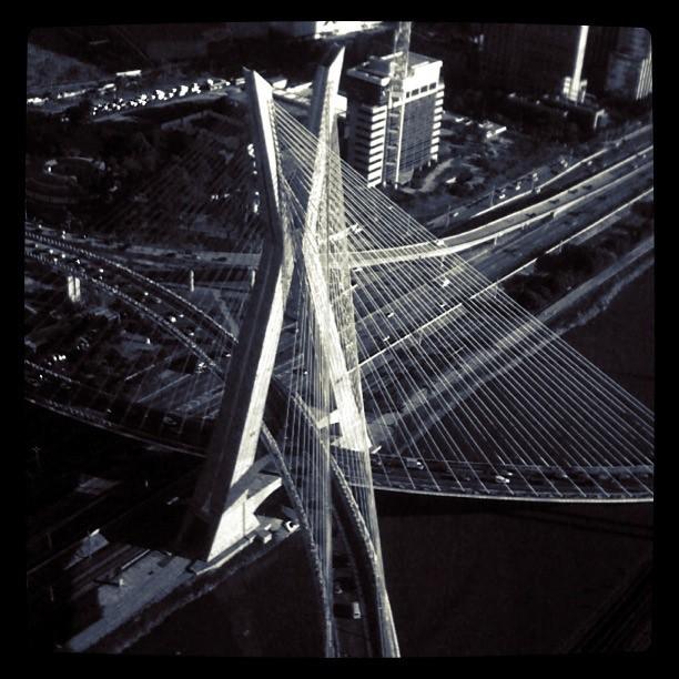 Ponte Estaiada do alto