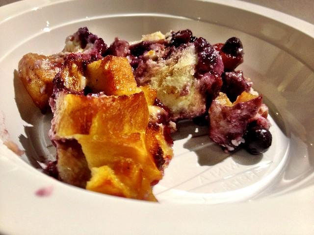 Bannock & Berry Bread Pudding