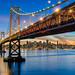 Bay Bridge, San Francisco by Sudheer.