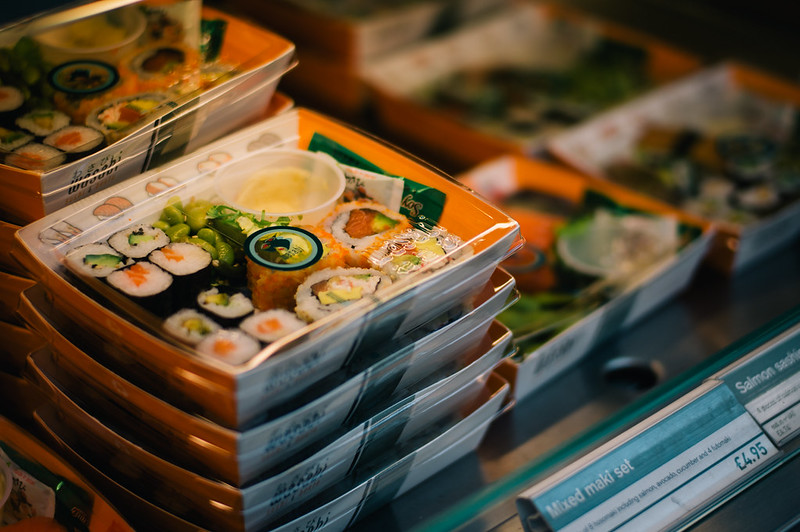 Wasabi, first company in the UK to sell individually wrapped pieces of sushi.