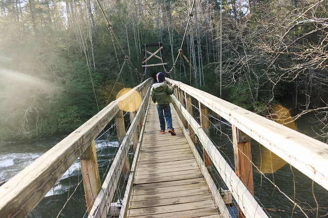 19.365 {Swinging Bridge over the Toccoa River}