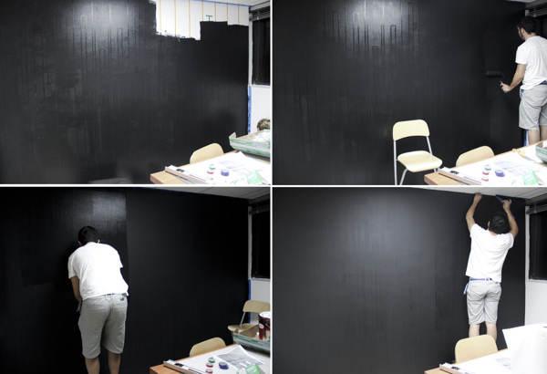 ideas para decorar con letras, paredes de oficinas