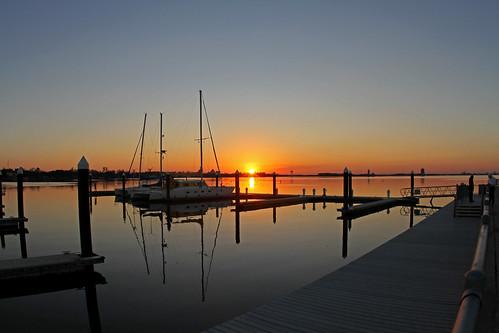 sunset louisiana lakecharles