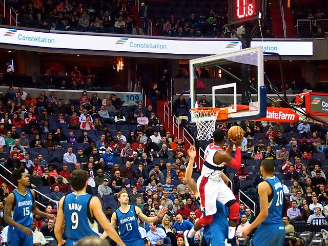 Shots from the Wizards Game - Geoffrey Robert Livingston