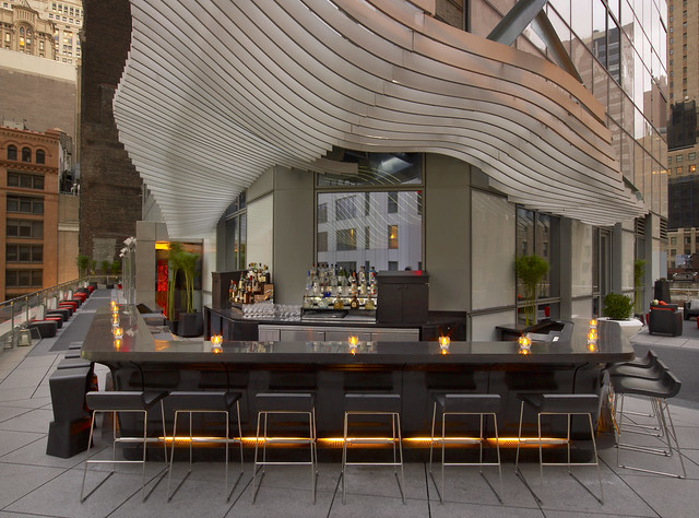 W New York - Downtownu2014Living Room Bar And Terrace | Flickr - Photo Sharing!