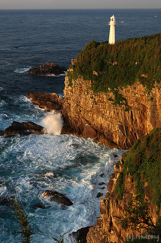 lighthouse japan sunrise pacificocean cape kochi daybreak 四国 太平洋 岬 日の出 高知 夜明け ashizuri 足摺岬 最南端 土佐清水