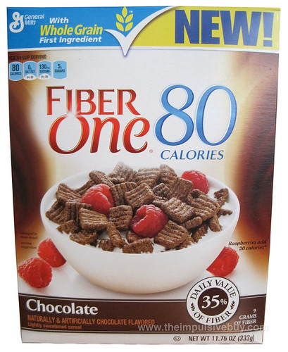 REVIEW: Fiber One 80 Calories Chocolate Squares Cereal