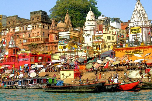 india river landscape religious nikon asia colours image traditional religion culture belief varanasi tradition bathing hindu hinduism ganga banaras explored prayagghat pallabseth gettyimagesmiddleeast gimemay1313