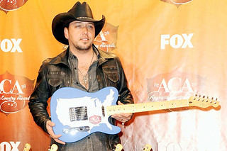 Jason Aldean Country Music Star With Guitar