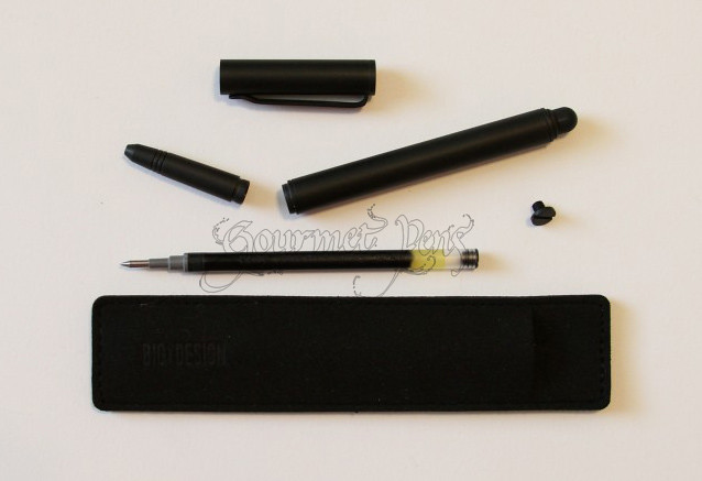 BIGiDESIGN Solid Titanium Pen + Stylus The Whole Package