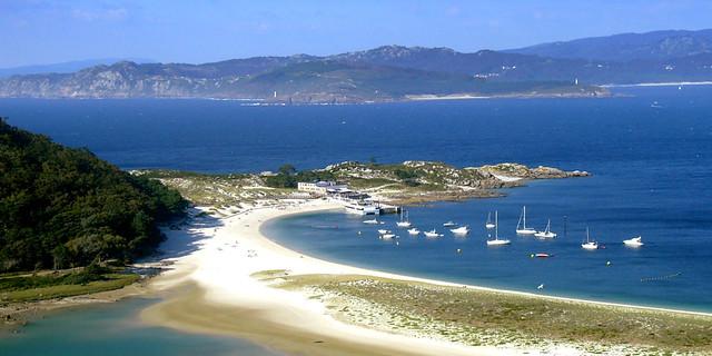 Playa de Rodas, Rías Baixas