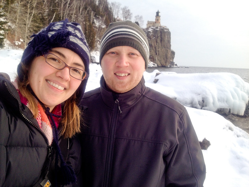 Sara and Patrick at Split Rock