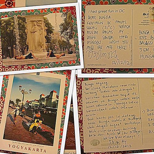 Kartu Pos dari Rumah