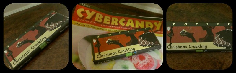cybercandy zotter chocolate bar