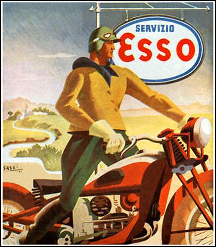 1942 Esso Oil by bullittmcqueen