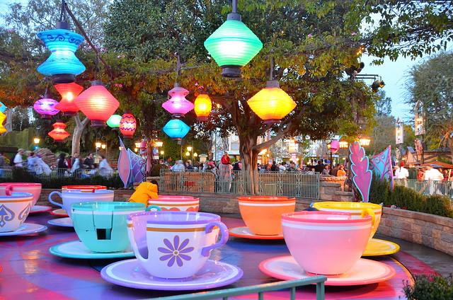 Mad Tea Party, Disneyland, California | Flickr - Photo ...