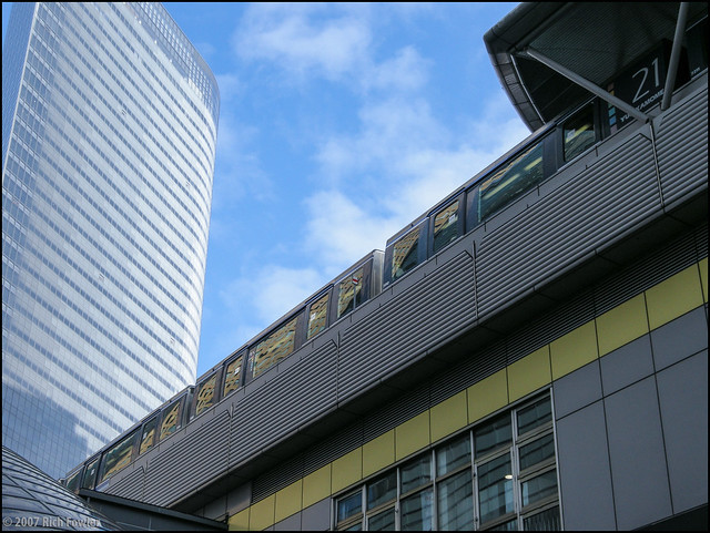 Shinbashi-- Buildings around the Station