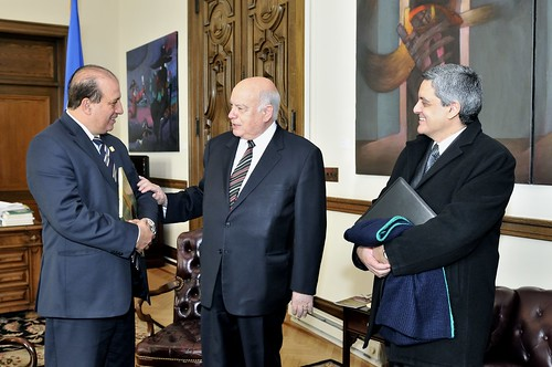 OAS Secretary General Receives President of Court of Auditors of Brazil