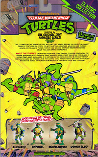 TEENAGE MUTANT NINJA TURTLES - CLASSIC COLLECTION :: RAPHAEL ..card backer ii (( 2012 ))