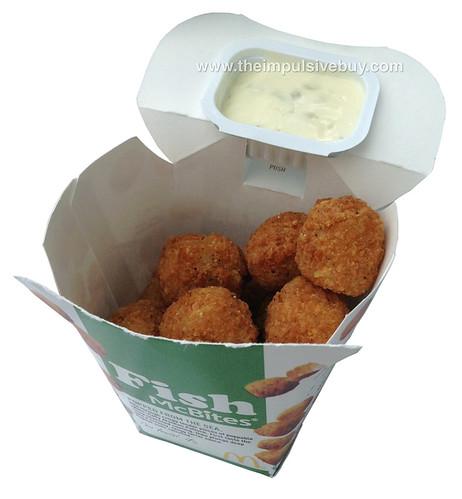 Review mcdonald 39 s fish mcbites the impulsive buy for Mcdonalds fish sandwich nutrition