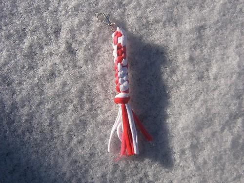 sleutelhanger rood by bijleonie
