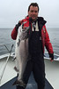 Salmon fishing at Langara Fishing Lodge, Haida Gwaii