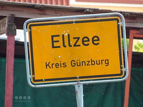 Günz -der Fluss > bei Ellzee in  Bayerisch Schwaben