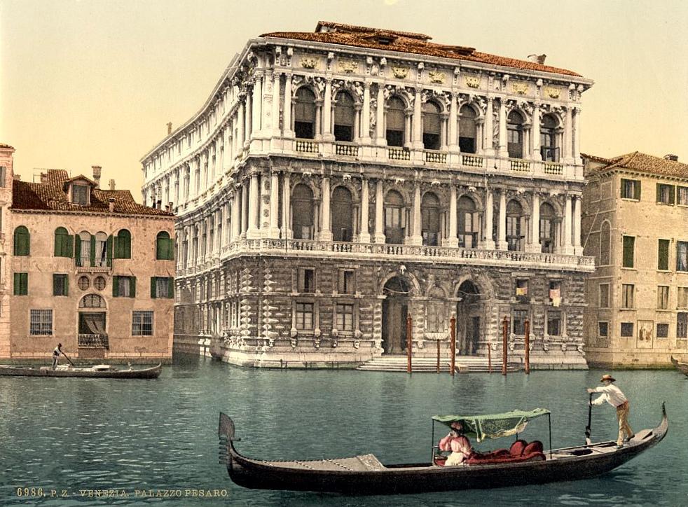 Pesaro Palace, Venice, Italy