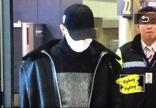 Big Bang - Incheon Airport - 07dec2015 - BigbangFighting - 01