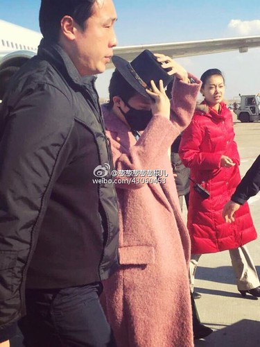 Big Bang - Harbin Airport - 21mar2015 - 葱葱葱葱葱根儿 - 03