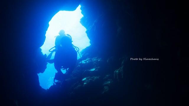 洞窟探検楽しかったなぁ♪