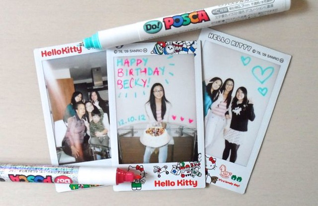 instax 15th becky
