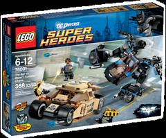 LEGO DC Universe Super Heroes 76001 - The Bat vs. Bane Tumbler Chase