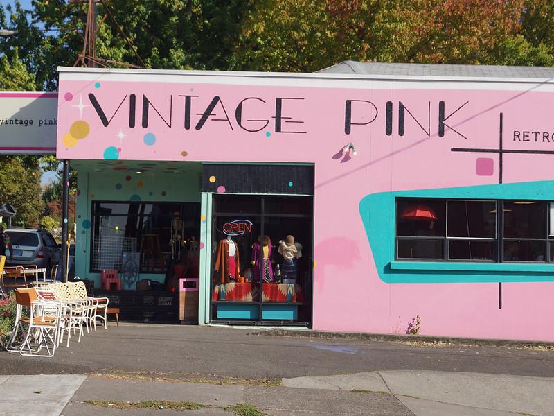 Vintage Pink 2500 Southeast Hawthorne Boulevard Portland, OR 97214