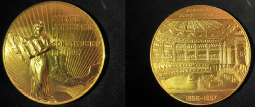 1957 Cuba Commemorative gold coin