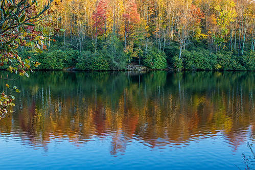autumn fall north carolina pricelake thomasfuller