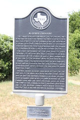 Photo of Moses Austin black plaque