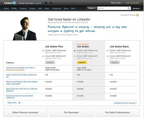 linkedin premium cost