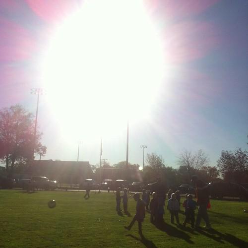 WPIR - early morning soccer
