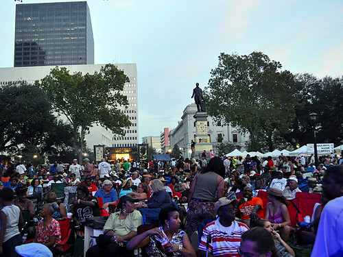 Audience at 2012 Blues & BBQ Fest